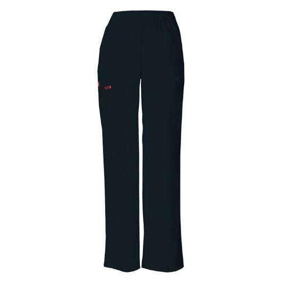 Dickies EDS Signature Women's Missy Fit Pull-On Scrub Pant - Navy (XS)