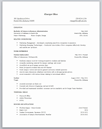 Resume Examples For Students With No Work Experience Canada Inspirational Sample 5 High School