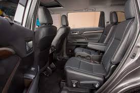 2014 Toyota Highlander Captains Chairs which 2016 three row suvs offer second row captain u0027s chairs