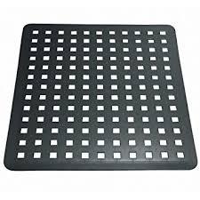 tapis d evier de cuisine interdesign basic tapis évier moyen fond évier en plastique pvc