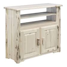Designed To Hold The Many Electronic Devices Found In Todays Modern Home This Handcrafted Rustic Style Media Center Is Just Right Height Watch