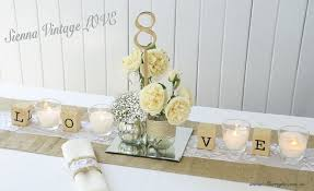 Why Not Make Your Own Vintage Rustic Table Centerpieces