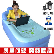 Inflatable Bathtub For Adults by Shower Basin Bucket Folding Inflatable Bathtub Bath Bucket