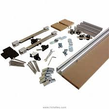 Richelieu Cabinet Hardware Template by Richelieu Traditional Concealed Barn Door Hardware Set