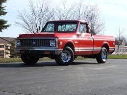 100 Cheyenne Truck 1972 Chevrolet C10 Short Bed Pickup Nostalgic