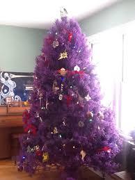Via Sparklette Purple Christmas Trees