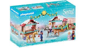 playmobil 70395 spirit free weihnachten in miradero