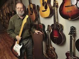Gruhn Guitars Owner George Holds The First Production Model Fender Stratocaster