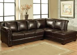 Chocolate Corduroy Sectional Sofa by Sofa Fantastic Chocolate Leather Sectional Couch Splendid