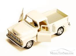1955 Chevy Stepside Pickup, White - Kinsmart 5330/6D - 1/32 Scale ... Just Trucks 1955 Chevy Stepside 124 Eta 128 Ebay Proline 1978 C10 Race Truck Short Course Body Clear Pickup Ss 5602 1 36 Buy Silverado Red Jada Toys 97018 2006 Chevrolet Another Toy Photo Image Gallery Rollplay 6 Volt Battypowered Childrens Rideon Diecast Scale Models Cars Treatment Please Page 2 The 1947 Present Gmc What Cars Suvs And Last 2000 Miles Or Longer Money