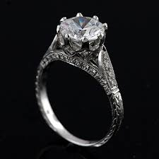 Vintage Style Diamond Engagement Rings Simple Jewellery With Innovation Yourself 2