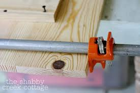 Pipe Clamps Come In Super Handy To Keep All The Boards Together Nice And Snug But If You Have An Extra Person Helping They Can Pull