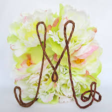 Rustic INITIAL Wedding Cake Topper Personalized Shabby Chic TopperMonogram TopperRustic Decoration