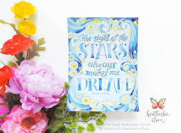 The Sight Of Stars Always Makes Me Dream Vincent Van Gogh Watercolor Crush GoghColoring BooksThe