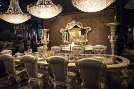 Luxury All The Way 15 Awesome Dining Rooms Fit For Royalty Rh Decoist Com Room Tables And Chairs Fancy