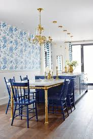 View Full Size Beautiful White And Blue Kitchen