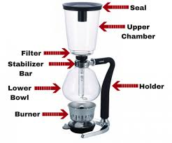 Siphon Coffee Maker Parts