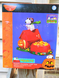 Halloween Candy Dishes by Dept 56 Peanuts Halloween Candy Dish Ebay Dept 56 Snoopy