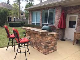 Fabulous Big Green Egg Outdoor Kitchen Ideas Picture