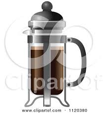 French Press Coffee Maker By Leo Blanchette