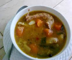 Jamaican Pumpkin Soup Youtube jamaicans waste no part of the chicken the chicken neck is used