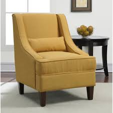 Kelsyus Original Canopy Chair With Ottoman by Chair Mustard Yellow Accent Chair Show Home Design With Arms
