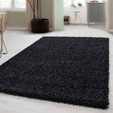 hochflor shaggy teppich wohnzimmerteppich einfarbig langflor rechteckig
