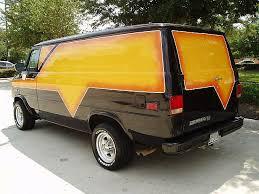 Custom Chevy Cargo Vans