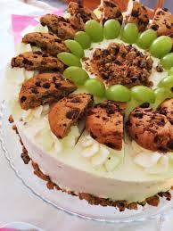 cookie weintraubentorte mit mascarponecreme kats cake