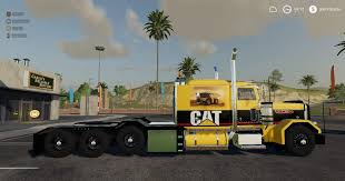 100 Haul Truck FS19 CATERPILLAR HEAVY HAUL V09 Farming Simulator
