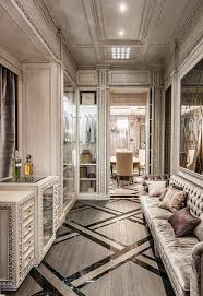 neoclassical and deco features in two luxurious interiors