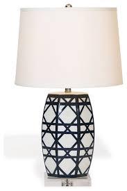 contemporary blue white lattice porcelain gazebo l eclectic