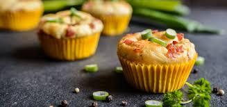 low carb schinken käse muffins würzige eiweißbomben