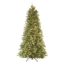 Slim Christmas Trees Prelit by 9 Ft Slim Pre Lit Christmas Trees Artificial Christmas Trees