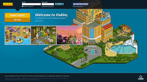 The Current Landing Page Of Habbo Captured April 2013