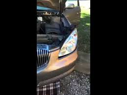 buick lucerne 2006 headlight assembly replacement
