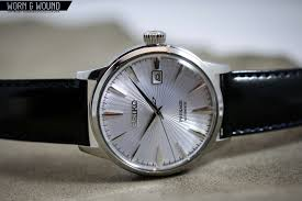 The Wound Dresser Explained by Seiko Brings The U201ccocktail Time U201d To Presage And Expands The Line
