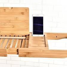 Bamboo Bathtub Caddy Bed Bath Beyond by Stainless Steel Bathtub Caddy U2013 Windpumps Info