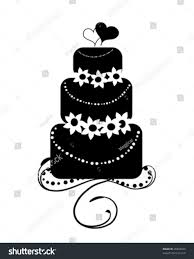 sign stock vector wedding cake clipart black and white line icon sign stock tan s zone