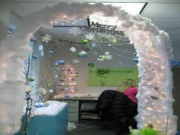 Cubicle Decoration Ideas In Office by Office Cubicles Decorating Get Enhanced With Work Christmas