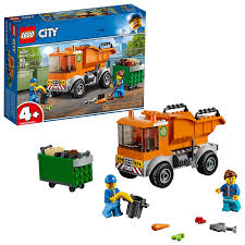 100 Garbage Truck Tab LEGO City Great Vehicles 60220 Building Kit 90 Piece
