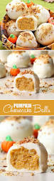 Gingersnap Pumpkin Pie Cheesecake by Pumpkin Cheesecake Balls Cakescottage