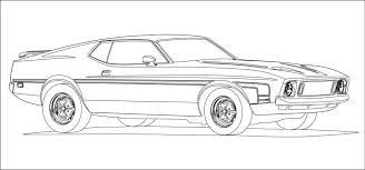 Muscle Car Coloring Pages Bestofcoloring Free Book