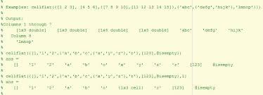 flatten nested cell arrays file exchange matlab central