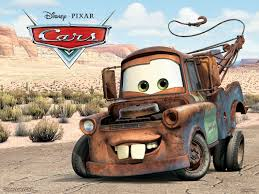 Mater The Tow Truck From Pixar's Cars Movie Desktop Wallpaper
