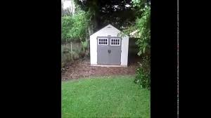 Suncast Horizontal Storage Shed Assembly by Orlando U0027s Handyman Builds Suncast Shed Youtube