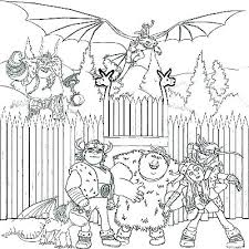 Realistic Coloring Pages Of Dragons Dragon