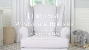Wingback Rocker | Pottery Barn Kids - YouTube Ideas Sofa Slip Cover Pottery Barn Replacement Slipcovers Chair Awesome Anywhere Chair Ideas Kids Anywhere Sofas And Armchairs 134648 Nwt Regular Size Baby Fniture Bedding Gifts Registry Kendall Cot Harper Bed Linen Australia The Eco Lounger From Buyers Beware Beauty Wonderful Covers Duvet Chairs Bedroom Design Magnificent Rooms Splendidferous 2017 Best Decor Charming For And