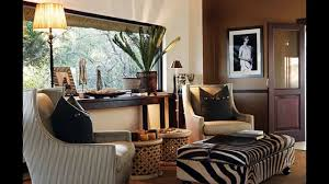 Safari Decorated Living Rooms by Cool African Home Decorating Ideas Youtube
