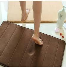 40x60cm mirco suede weiche badezimmer teppichboden küche mat 4 farben